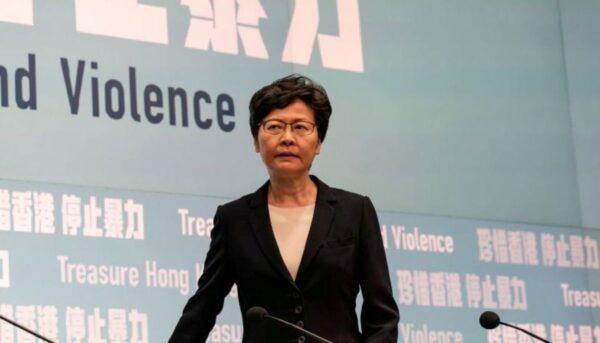 林鄭暫停動用緊急法 威脅不排除請北京干預