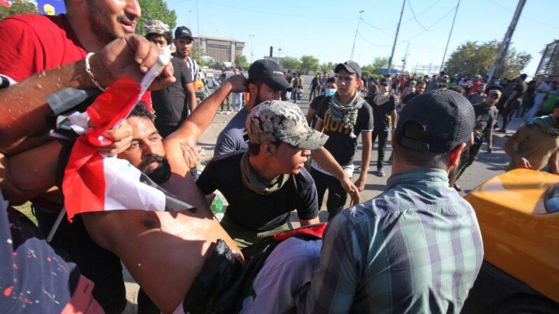 血腥抗議 伊拉克4天至少60死1600人受傷