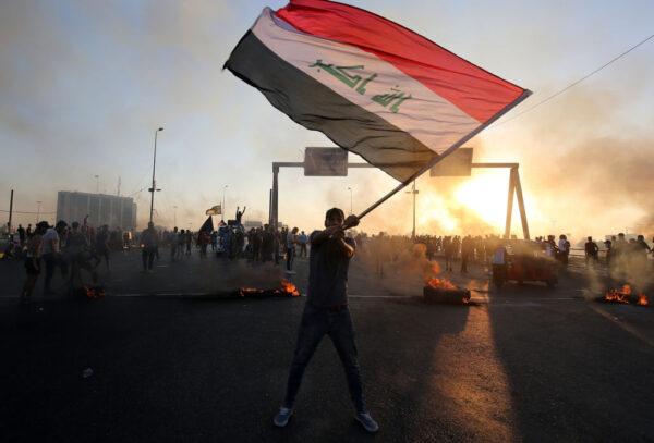 伊拉克陷大规模示威 5天近百死4000伤