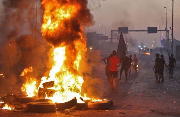 伊拉克动乱 增至104死逾6000人伤