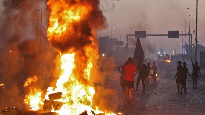 伊拉克動亂 增至104死逾6000人傷