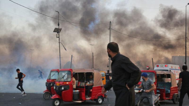 對群眾開槍 伊拉克軍方首度承認「使用過度武力」