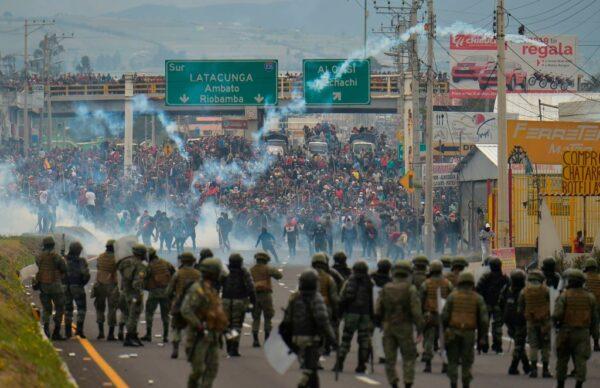 油价调涨120% 厄瓜多尔再爆示威冲突