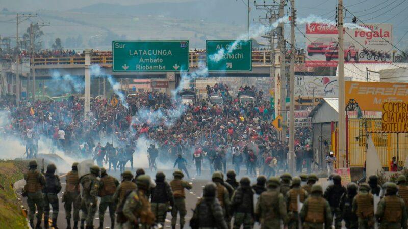 油價調漲120% 厄瓜多爾再爆示威衝突