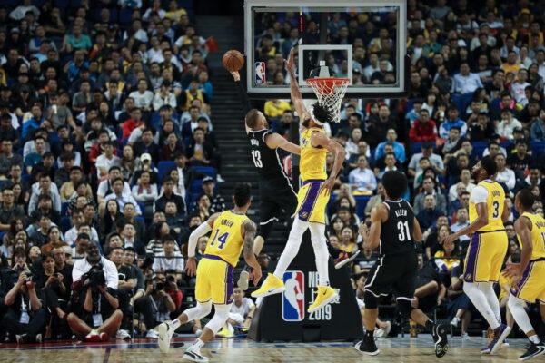 嘴上抵制身体诚实  NBA上海赛全场爆满