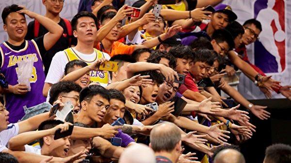 北京默许复播NBA 仅14商家终止与NBA合作打脸中共