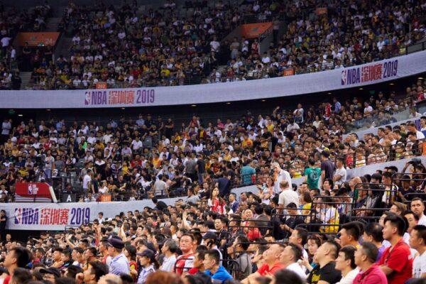 抵制NBA再被打脸 深圳赛场比上海更火爆