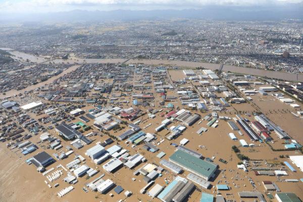 海貝思重創日本 24處河川潰堤 死傷攀升