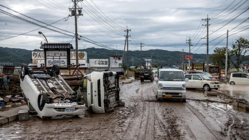 海贝思重创日本 如海啸过境 已酿66死212伤