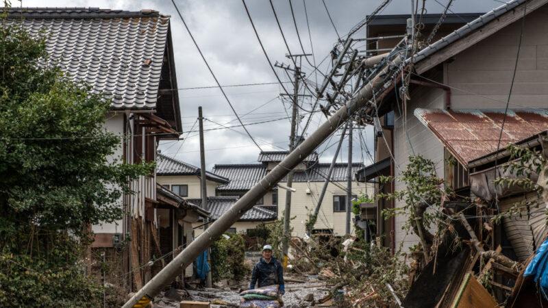 台风浣熊往日本前进 哈吉贝肆虐灾区或洪水为患