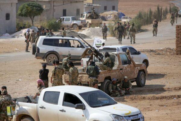 库德族民兵撤30公里 土耳其不再发新军事行动
