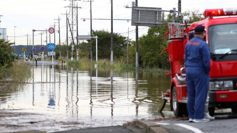 日大雨河川泛滥酿9死 29日恐再降雨