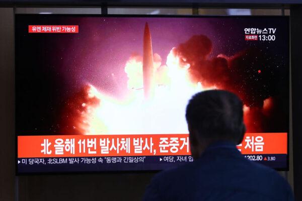 朝鲜突朝东方海面 发射2枚不明发射体