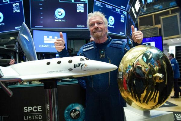 維珍銀河太空旅遊企業 首家紐約股市交易上市