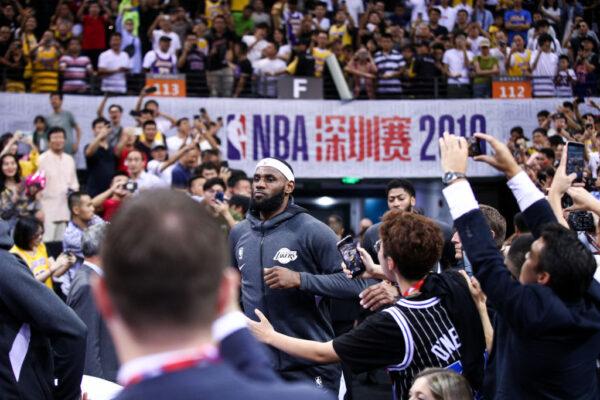 NBA没有伤害球迷,伤害的是中共
