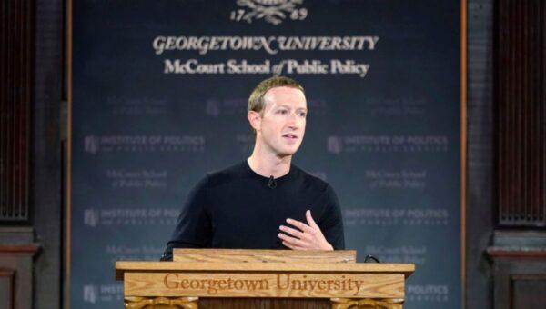 脸书CEO扎克伯格转口风 猛批中共言论审查