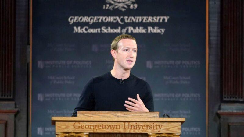 臉書CEO扎克伯格轉口風 猛批中共言論審查
