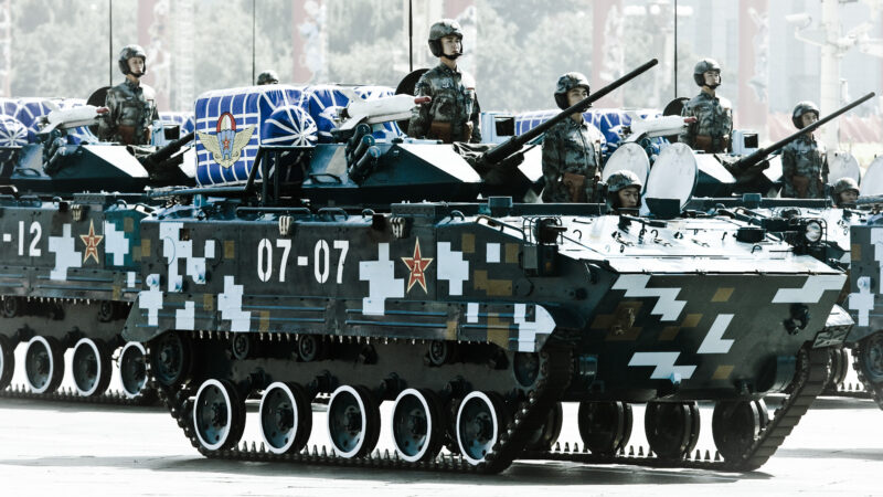 【江峰时刻】70年民族劫难(一):北京阅兵的口号喊得不对