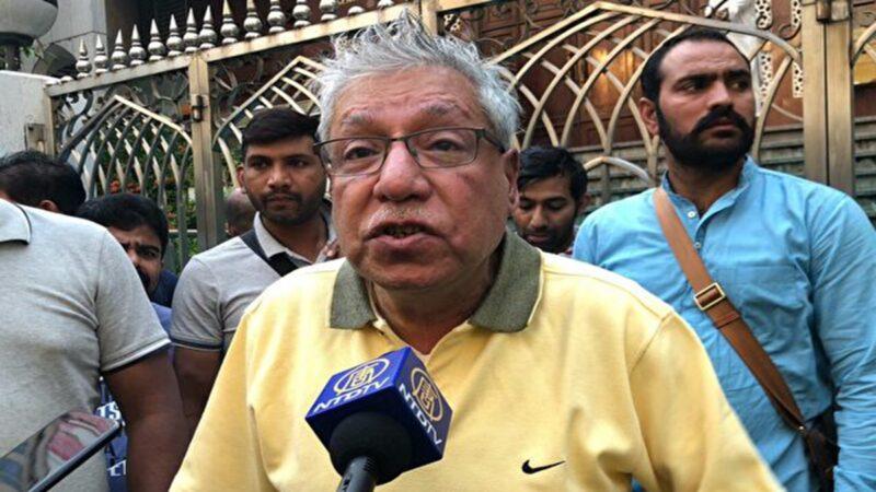港警水炮击中印度协会前主席 林郑道歉被拒
