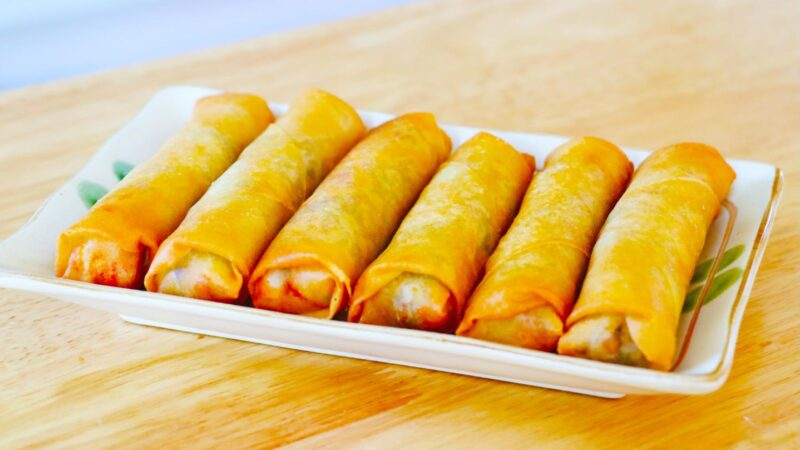 【美食天堂】酥脆蝦肉春捲食譜~真的太好吃啦!家常料理食譜 一學就會