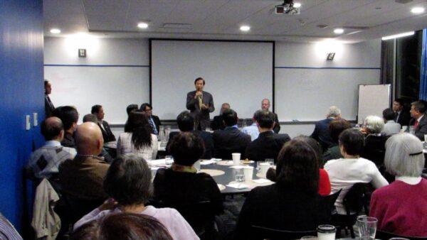 台大選在即 學者抵加座談 揭「中共對台信息戰」