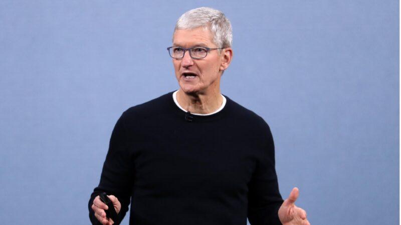 苹果CEO入席清华 美议员警告:勿助中共箝制言论