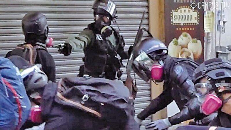 """吴广明:公然""""砌生猪肉"""" 必须解散无耻警队"""