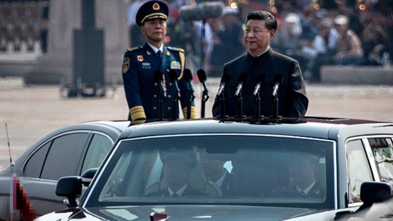 习阅兵讲话只提毛泽东 穿毛服拜毛尸引猜测