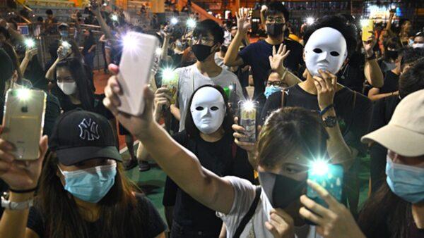 禁蒙面法首日 林郑叫苦:香港陷于半瘫痪