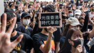 15岁香港少年被抓 保释后的誓言网络疯传