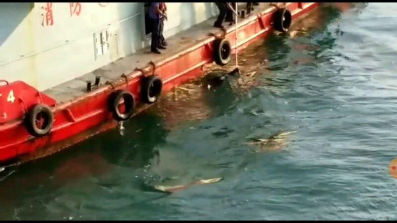 香港又傳「被自殺」海面現黑衣女浮屍