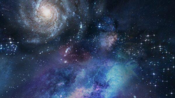 NASA捕捉驚人畫面:兩大星系碰撞如鬼臉看地球