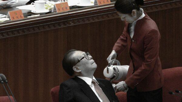 江泽民紧盯美女照 中共外交部跳脚