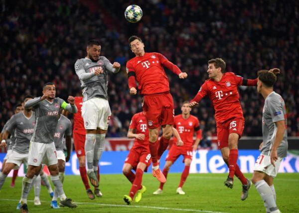 大巴黎、拜仁和尤文提前兩輪晉級歐冠16強