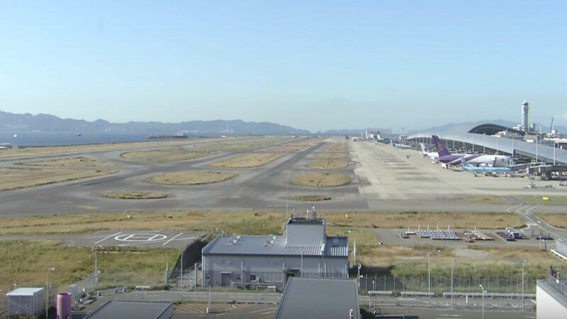 无人机大闹日本关西机场 跑道关闭航班大乱