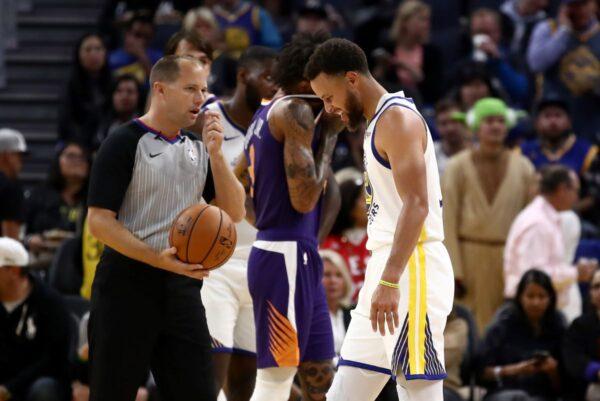 NBA库里左手骨折 缺战时间未明