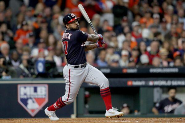 MLB肯德瑞克逆转轰 国民入手首座世界大赛冠军