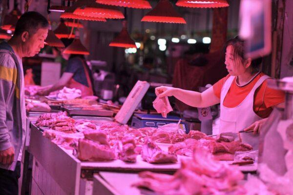 大陆10月CPI同比上涨3.8% 猪肉价涨101.3%
