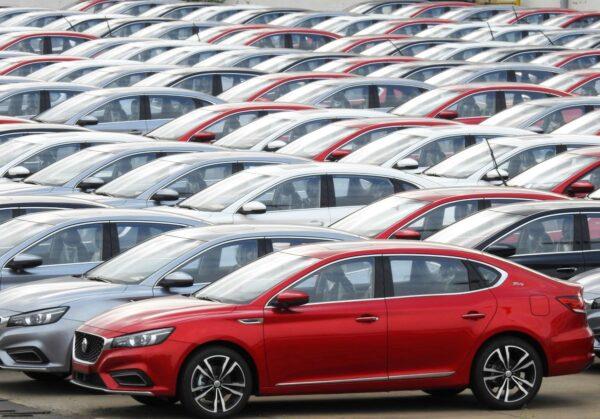 大陸10月乘用車銷量跌5.8% 新能源車跌45%