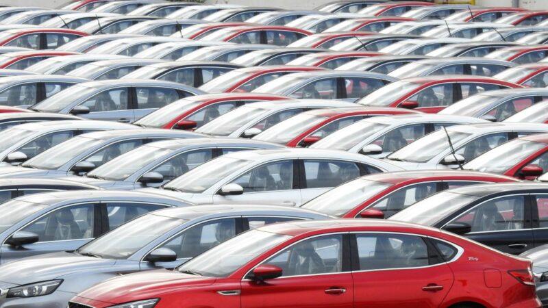 大陆10月乘用车销量跌5.8% 新能源车跌45%