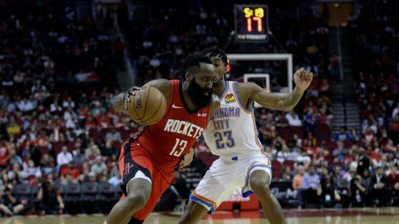 NBA哈登最後6分鐘豪取17分 火箭擊沉快船
