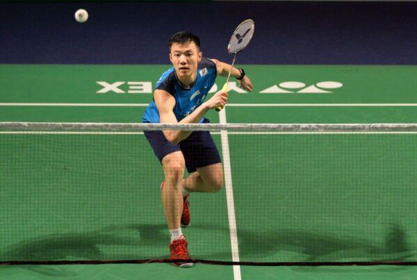 香港羽球公開賽 王子維止步16強