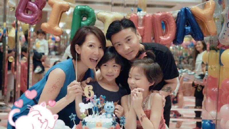 46歲蔡少芬三胎產子 張晉曬全家福報喜訊