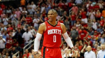 NBA火箭雙後衛64分 敗開拓者迎八連勝