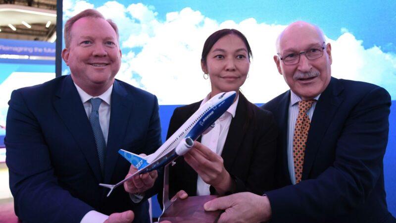 波音737 Max獲數筆訂單