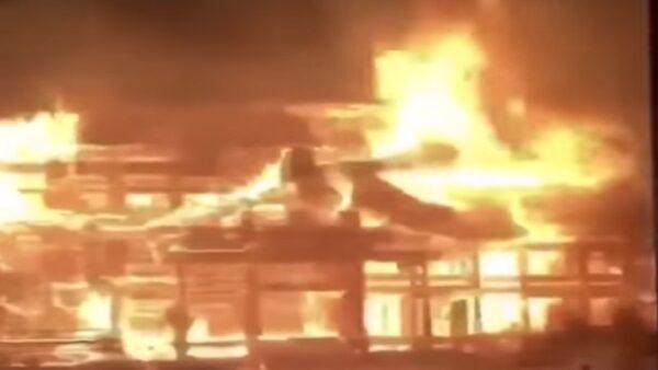 疑「桐油」加速首里城大火 15秒攝像者成謎