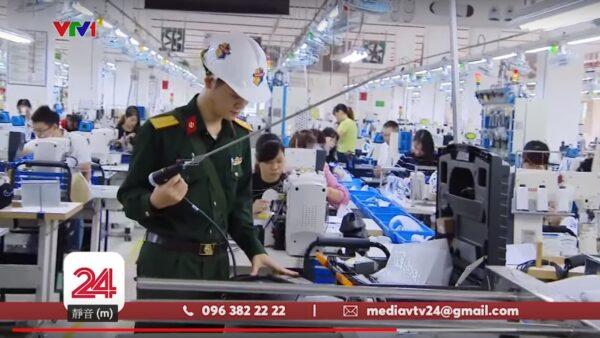 疑制鞋原料有毒 越南台资厂逾百员工昏倒送医