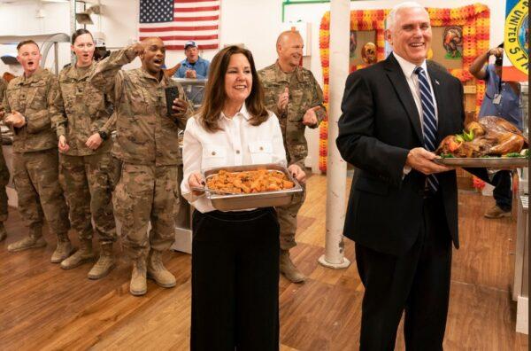 避开巴格达 美副总统彭斯突访伊拉克