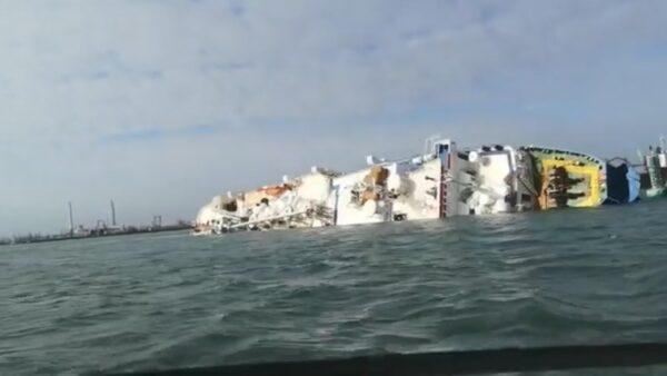 运1万4600只绵羊船翻覆 罗马尼亚动员军警抢救