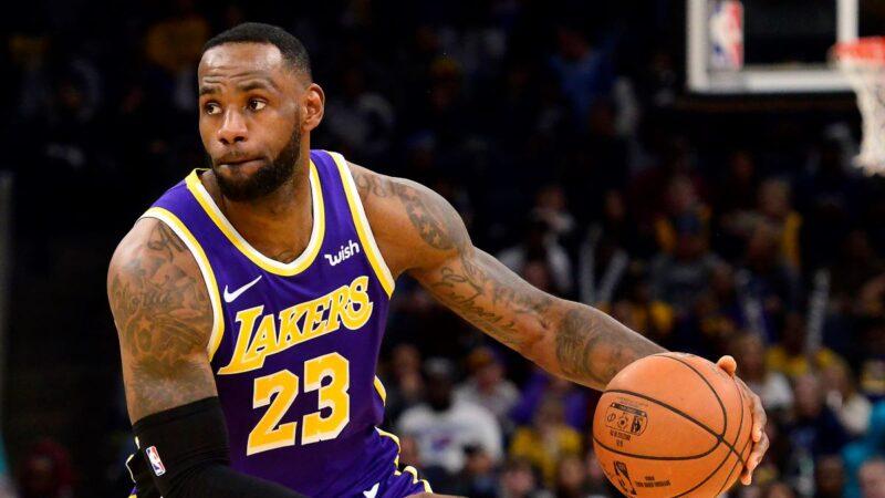 NBA湖人1分收伏灰熊 驚險收下7連勝